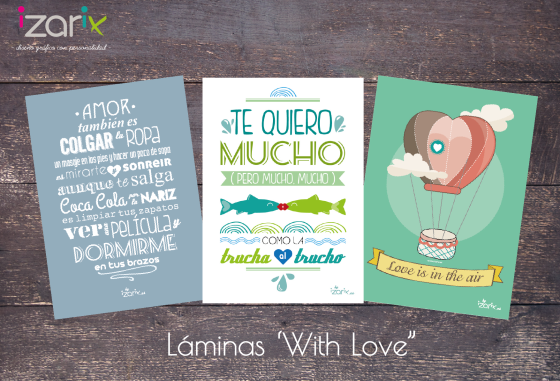 Laminas with love - izarix 1