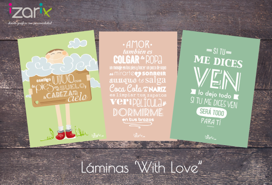 Laminas with love - izarix 2